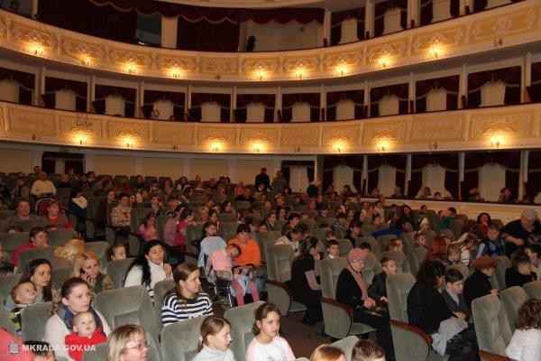 В Николаеве прошла благотворительная акция «Добрый Дед Мороз»
